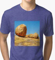 Landscape - Matobos Boulders Tri-blend T-Shirt