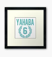 Haikyuu!! Jersey Yahaba Number 6 (Aoba) Framed Print