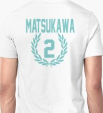 Haikyuu!! Jersey Matsukawa Number 2 (Aoba) T-Shirt