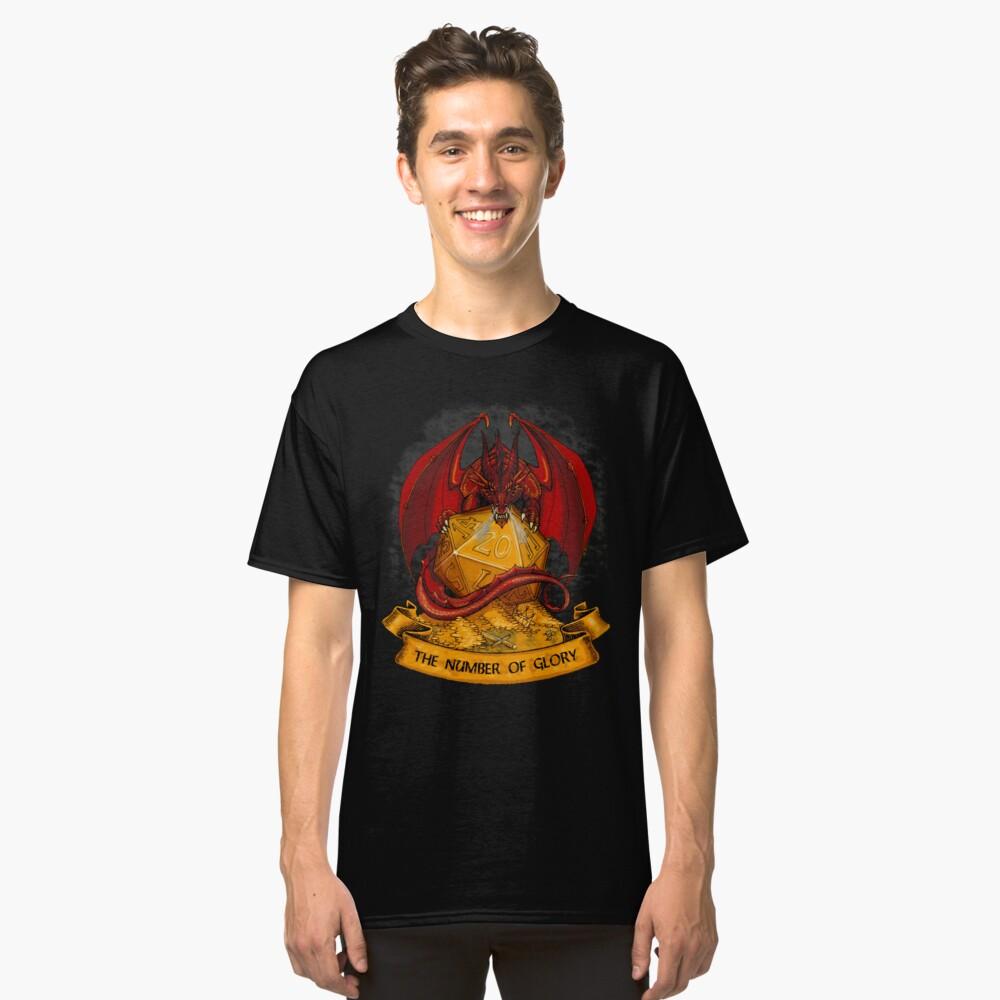 ¡tirar los dados! Camiseta clásica
