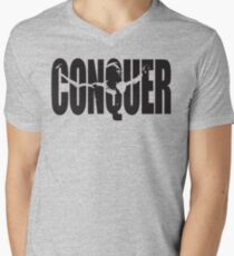 CONQUER (Arnold Iconic Black) T-Shirt