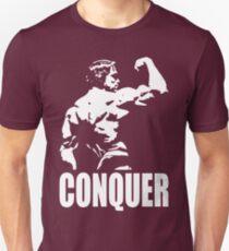 CONQUER (Arnold Back Bicep Flex) Unisex T-Shirt