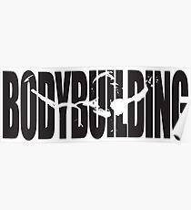 Bodybuilding (Arnold Iconic Black) Poster