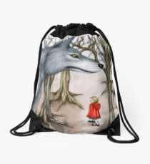 Not Out of the Woods Drawstring Bag