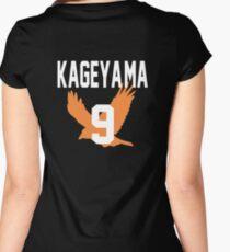 Haikyuu!! Jersey Kageyama Number 9 (Karasuno) Women's Fitted Scoop T-Shirt