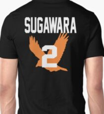 Haikyuu!! JerseySuga Number 2 (Karasuno) T-Shirt
