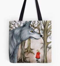 Not Out of the Woods Tote Bag