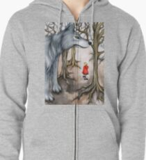 Not Out of the Woods Zipped Hoodie