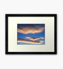 Anime Sky Framed Print