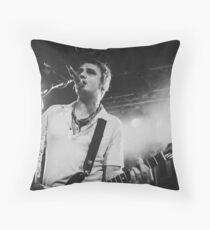 Pete Doherty The Libertines Live Shot Throw Pillow
