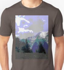 Mountain Landscape Photo Edit Unisex T-Shirt