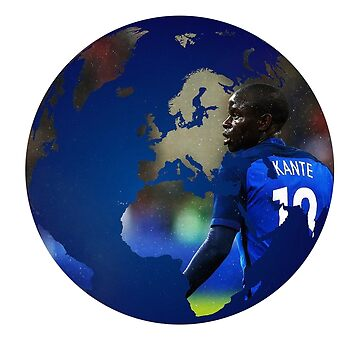 NGolo Kante leicester city (T-shirt, Phone Case & more) by RighteousOnix
