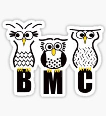 BMC Owls - Yellow Sticker