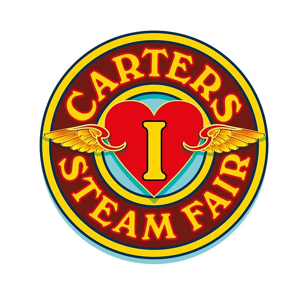 I Love Carters - circle by Carter & Rickard