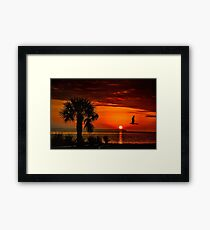 Take me to the sun Framed Print