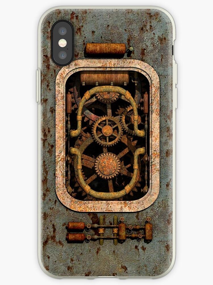 Infernal Steampunk Vintage Machine #1 by Steve Crompton