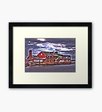 Anthony's Pier 4 Framed Print