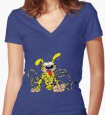 marsupilami Women's Fitted V-Neck T-Shirt
