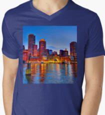 Boston Harbor V-Neck T-Shirt