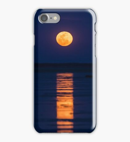 Staircase to the Supermoon iPhone Case/Skin