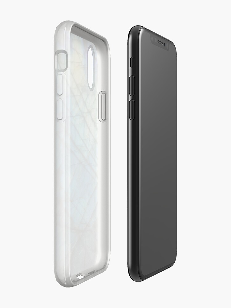 Vista alternativa de Funda y vinilo para iPhone Labradorita azul real
