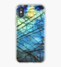 Royal Blue Labradorite iPhone Case
