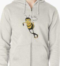 Bee movie ya like jazz Zipped Hoodie