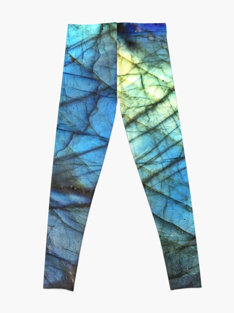 Vista alternativa de Leggings Labradorita azul real