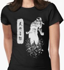 Metal Gear Solid 4 - Dissolving Snake Women's Fitted T-Shirt