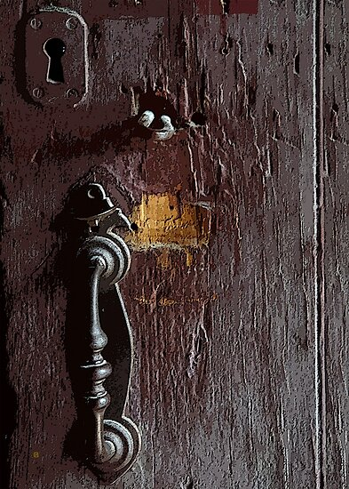 Doorway To The Past by Vy Solomatenko