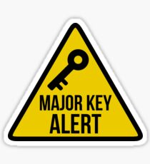 Major Key Alert - DJ Khaled Sticker Sticker