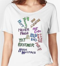 Development ARRESTING QUOTES Women's Relaxed Fit T-Shirt