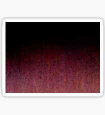 Red Brown Black Ombre Rust Metal Patina Sticker
