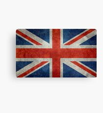 British Union Jack flag Vintage version, scale 3:5 Canvas Print