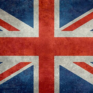 British Union Jack flag Vintage version, scale 3:5 by Bruiserstang