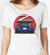 Nissan Fairlady 350Z Z33 Midnight Blue  Women's Relaxed Fit T-Shirt