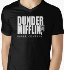 Dunder Mifflin Paper Company - The Office Men's V-Neck T-Shirt