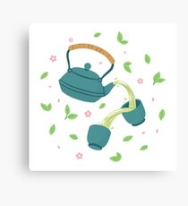Japanese Green Tea Canvas Print