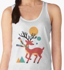 Deer Autumn Women's Tank Top