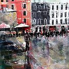 London Art - Convent Garden by Ballet Dance-Artist