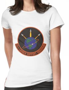 45th Launch Support Squadron Logo Womens Fitted T-Shirt