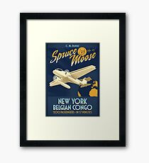 Fly the Spruce Moose Framed Print