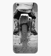 Vinilo o funda para iPhone Motocicleta Moto x levantando la tierra