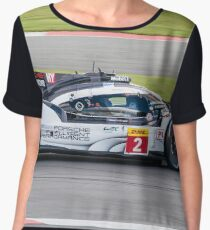 Porsche Team No 2 Women's Chiffon Top