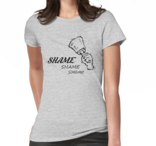 Game Of Thrones Walk Of Shame Women 39 S Fitted T Shirts