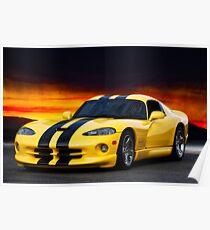 Dodge Competition Viper Poster