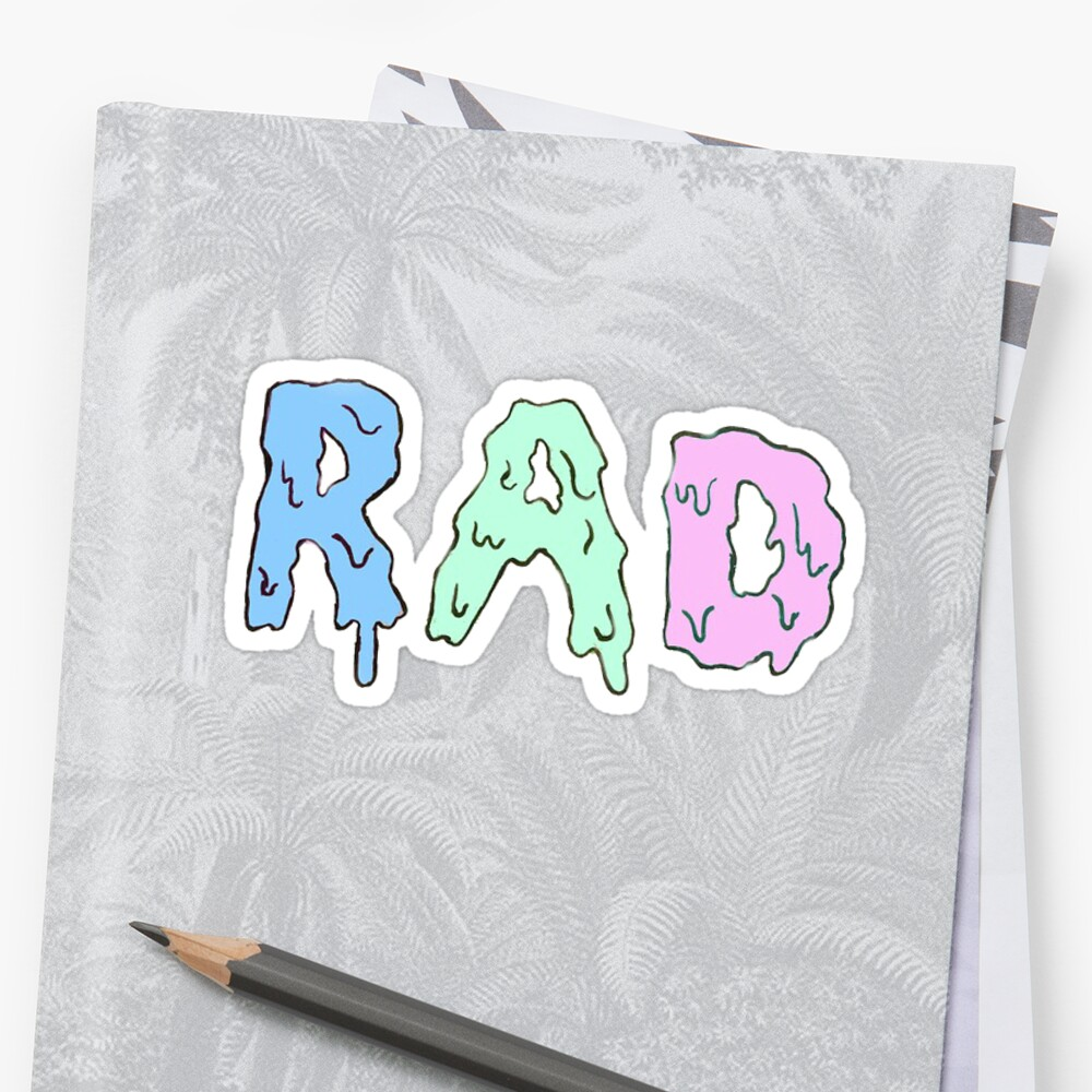 Rad Dripping Pastel by tylermaclean24