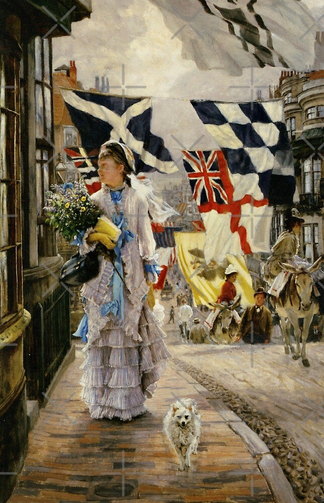 A Fete Day at Brighton by diane  addis