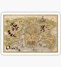 Unova Map Sticker