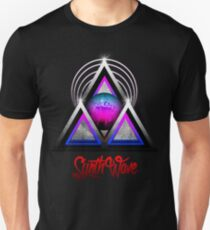 """Retro 80's Synthwave / New Retro Wave: Neon Nights (With """"SynthWave"""" logo) Unisex T-Shirt"""
